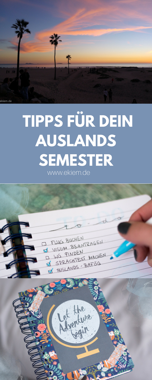 Tipps für dein Auslandssemester