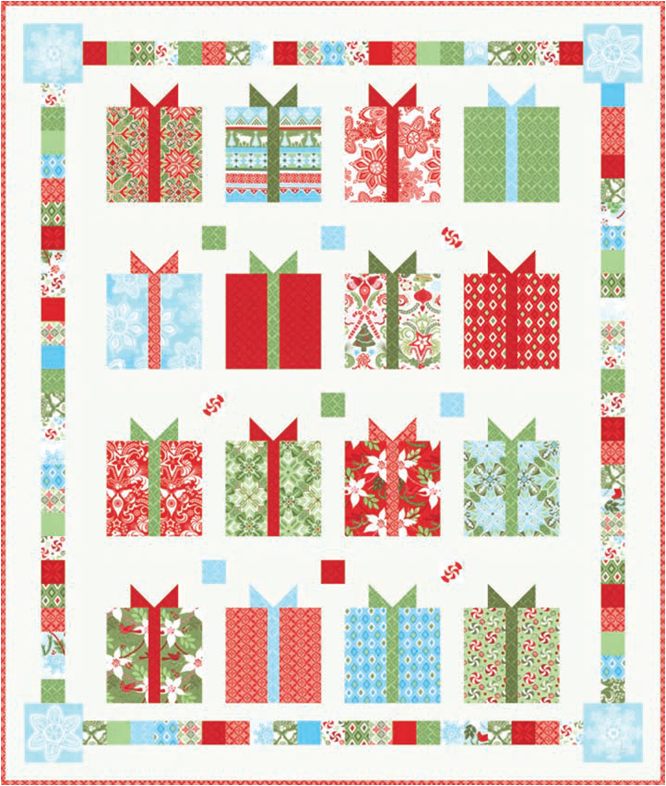 Free Pattern Day Christmas 2015 Part 2 Quilt