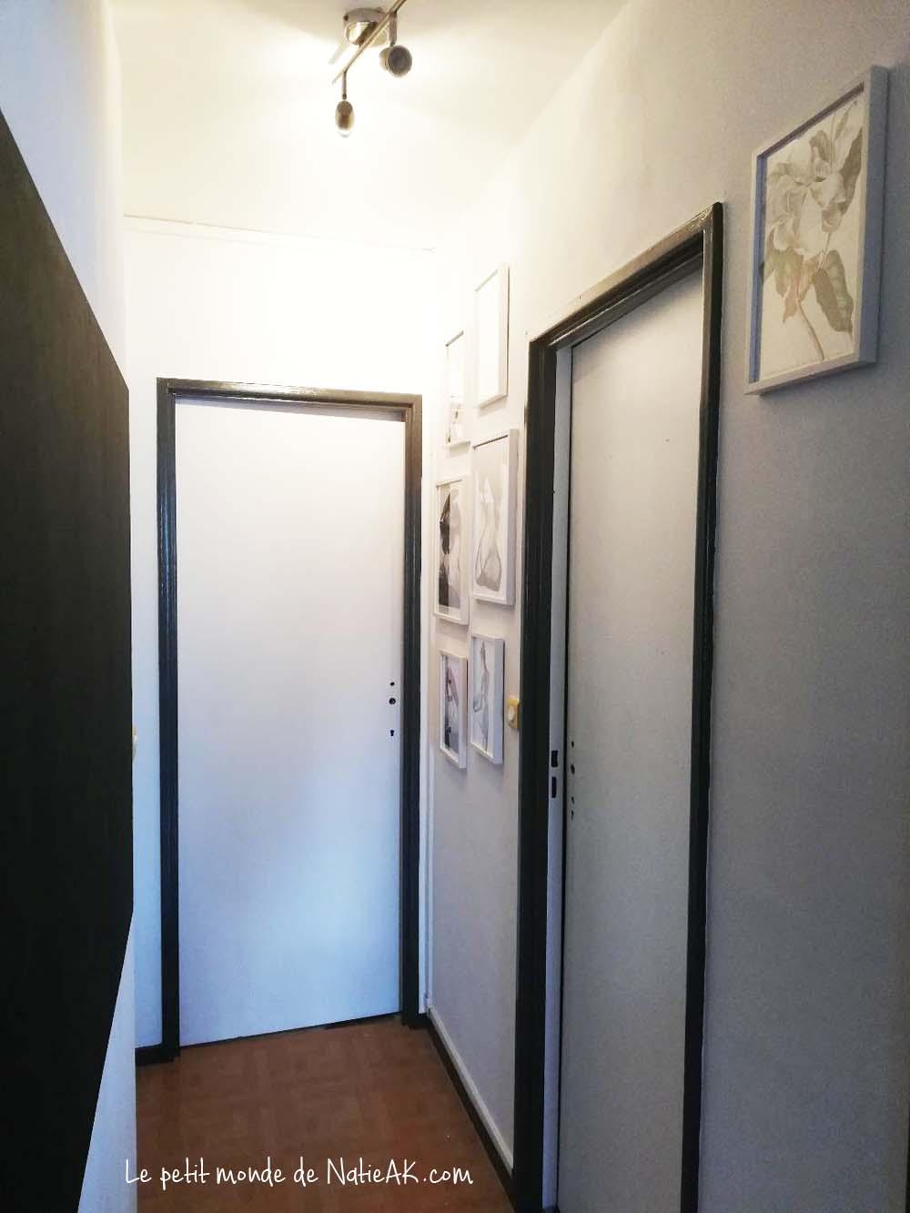 décoration couloir moderne