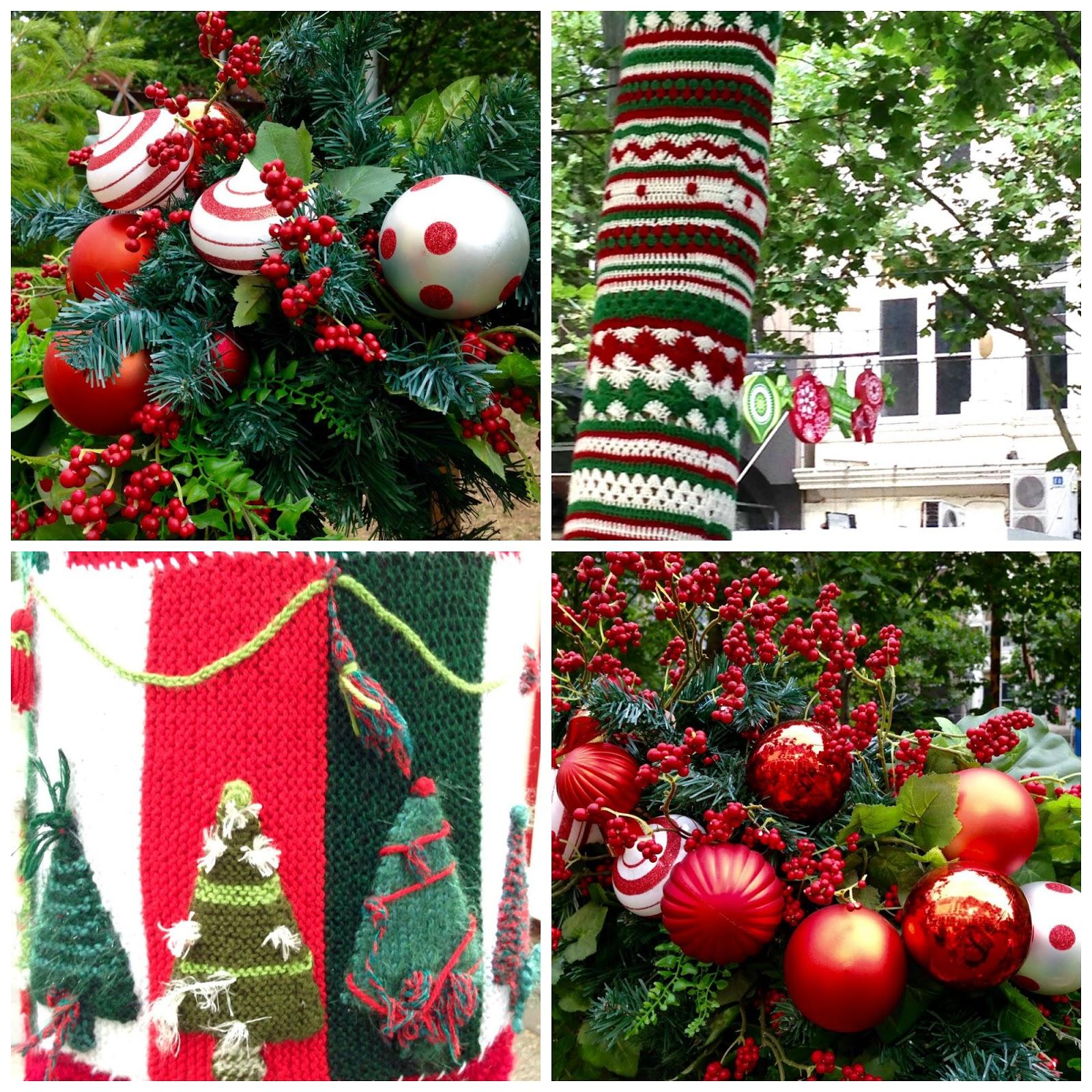 Christmas Trees Melbourne: Green Gourmet Giraffe: Melbourne Christmas: Myer Windows