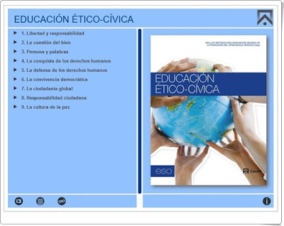 Material multimedia Editorial Casals Educación Ético Cívica Educación Secundaria