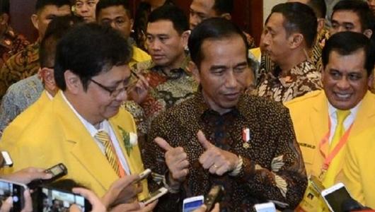 Golkar Tak Ingin Oposisi Merapat Tapi Tetap Menyerang Jokowi