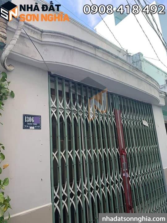 Nhà cấp 4 Quang Trung phường 14 Gò Vấp