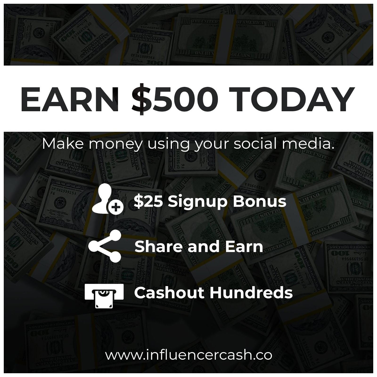 Register Free to Get $25