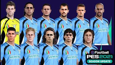 PES 2021 Classic FacePack SS Lazio by Andri Mod