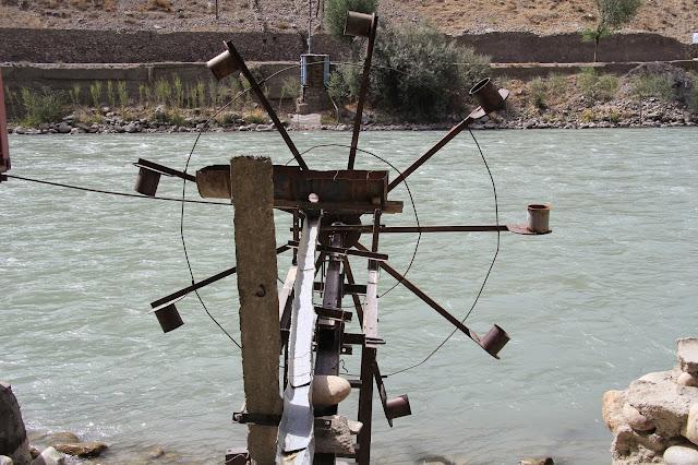 Tadjikistan, Haut-Badakhshan, Khorog, Pamir, roue persane, © L. Gigout, 2012
