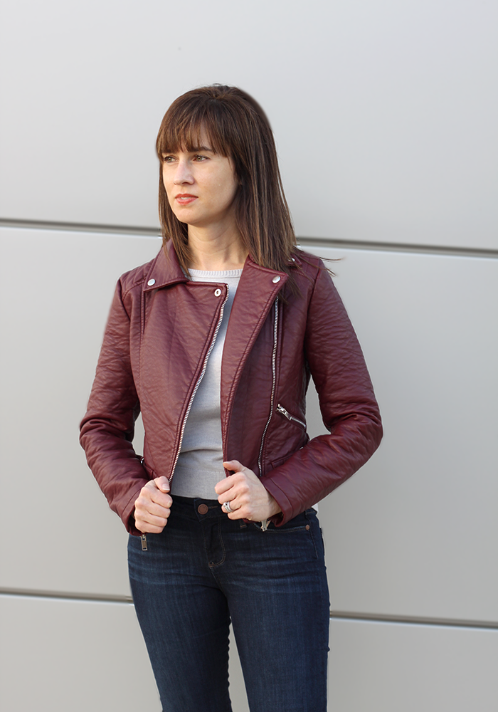 moto jacket, skinny jeans, how to wear moto jacket