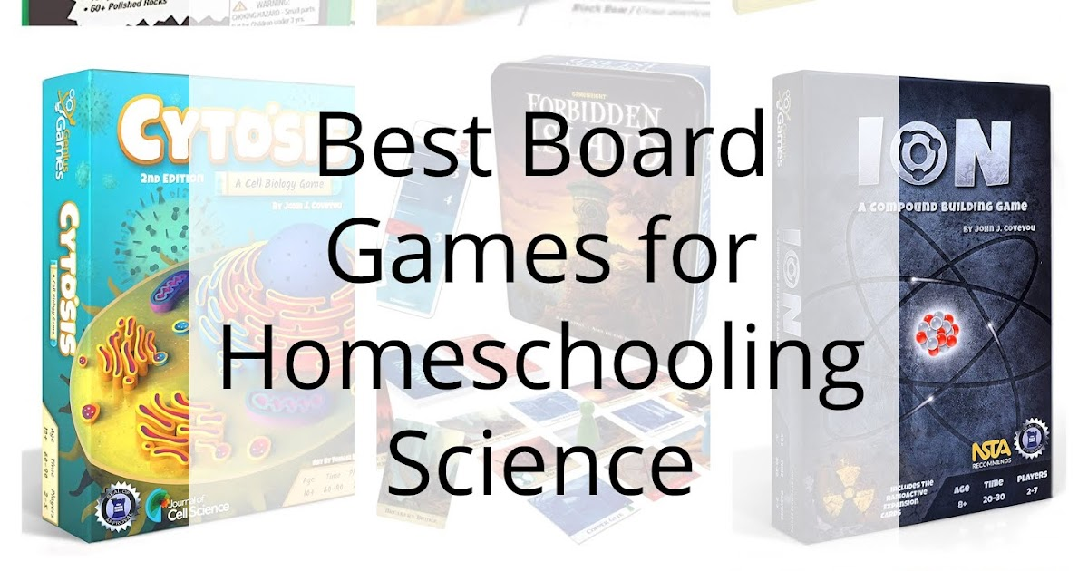 100 Days of Science #70-- Best Board Games for Science