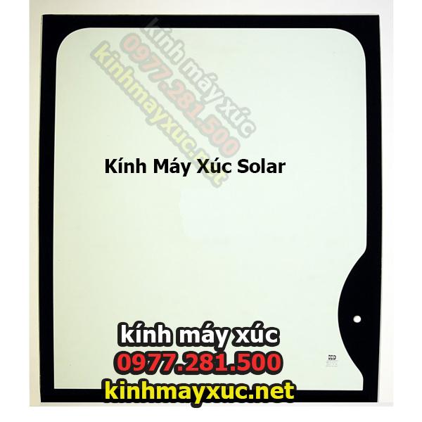 Kính Chắn Gió Solar,Kính Máy Xúc Solar, Kính Máy Xúc Deawoo, Lắp Đặt Kính Máy Xúc