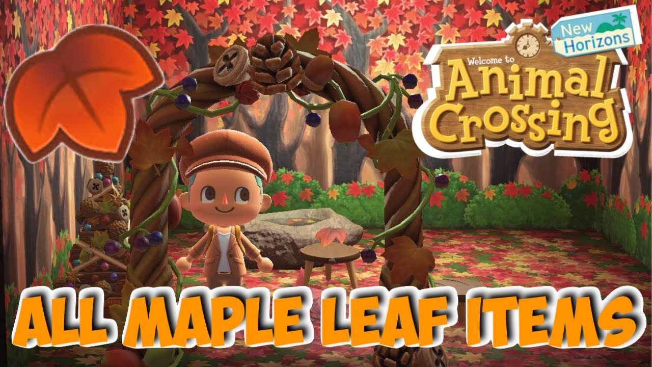 Animal Crossing New Horizons, maple leaves: where to find them and their use? Our guide