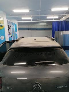 Lavado de coche exterior