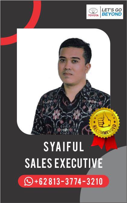 Sales Toyota Bali