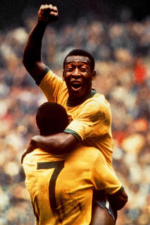 Pele is known as the king of football/ Ph: nld.com.vn