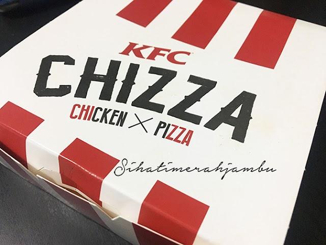 Bila Ayam dan Pizza Bergabung. Meletop Ke?