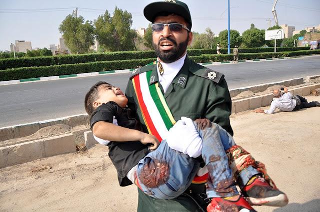 Militar detenido por atentado en Ahvaz