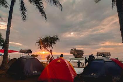 Camping Pantai Selatan Jawa Barat