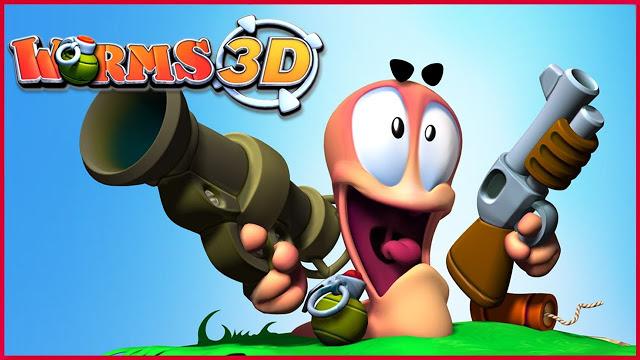 تحميل لعبة wormes 3d  لعبة حرب الدود worms مجانا من ميديا فاير رابط مباشر
