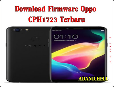 Download Firmware Oppo CPH1723 Terbaru