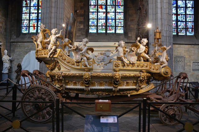 Cathedral Mons Golden Coach