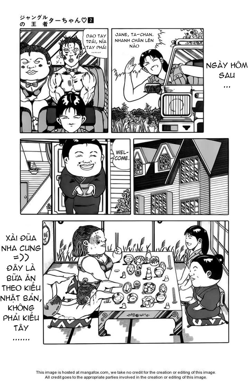 Chúa rừng Ta-chan chapter 31 trang 9