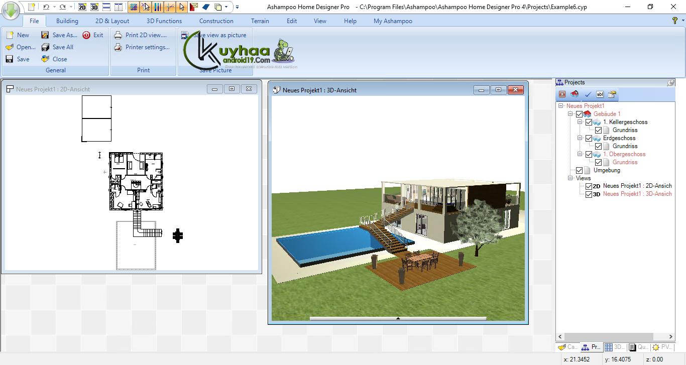 Ashampoo Home Designer Pro 4.1.0 Full | kuyhAa.Me