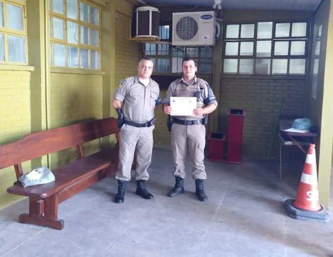 Saiba quem é o policial militar em destaque do 26º BPM de Cachoeirinha