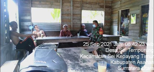 Jalin Silaturahmi Dengan Cara Komunikasi Sosial Dilakukan Personel Jajaran Kodim 0208/Asahan Bersama Dengan Warga Binaan