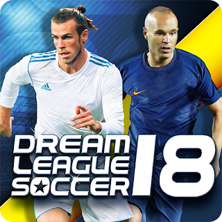 pada kesempatan kali ini admin akan membagikan sebuah  Dream League Soccer 2018 v5.04 Mod Apk Data (Unlimited Money)