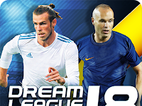 Dream League Soccer 2018 v5.03 Mod Apk Data (Unlimited Money)