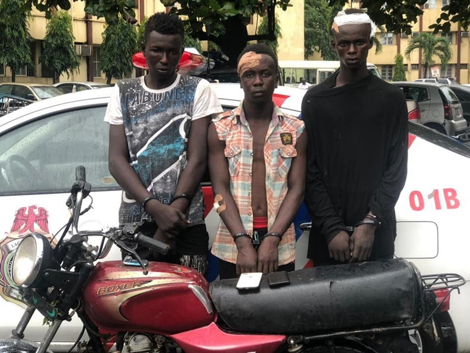 RRS Arrests Three Traffic Robbers Moments After Robbery Operation