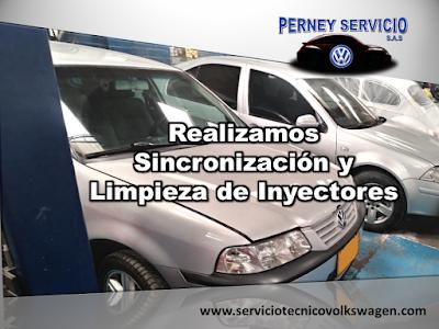 Limpieza de Inyectores Volkswagen Bogota