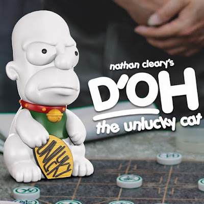 D'OH the Unlucky Cat The Simpsons Vinyl Figure by Nathan Cleary x Mighty Jaxx