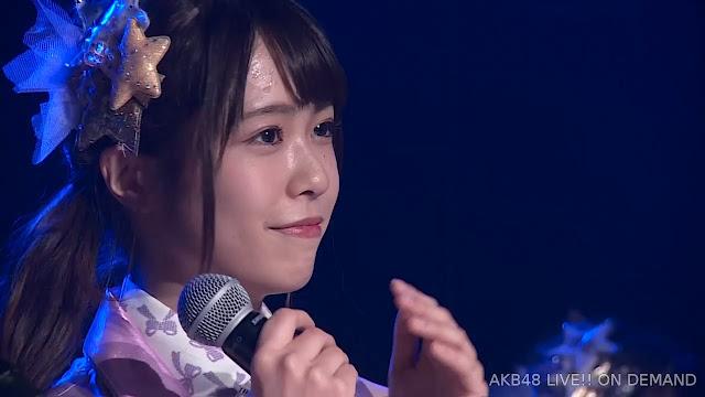 AKB48 'Sono Shizuku wa, Mirai e to Tsunagaru Niji ni Naru' 191018 84 LIVE 1830 (Oda Erina Birthday)