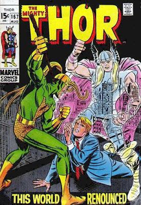 Thor #167, Loki