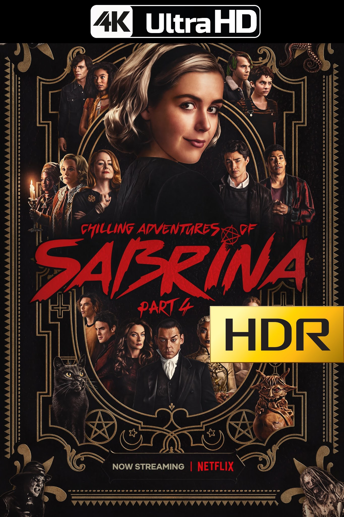 Chilling Adventures of Sabrina (2020) Temporada 02/Parte 04 NF WEBRip 4K UHD HDR Latino