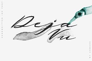 Deja Vu. Handwritten Ink Font