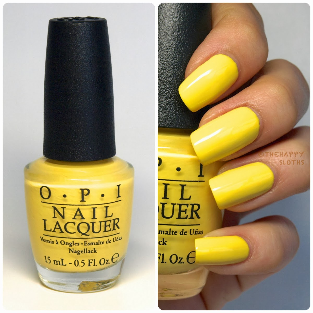 OPI Brazil Collection S/S 2014 Nail Polishes: Review And