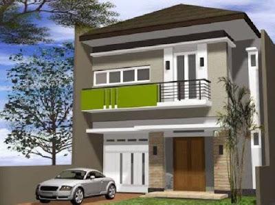 kumpulan desain rumah minimalis perkotaan
