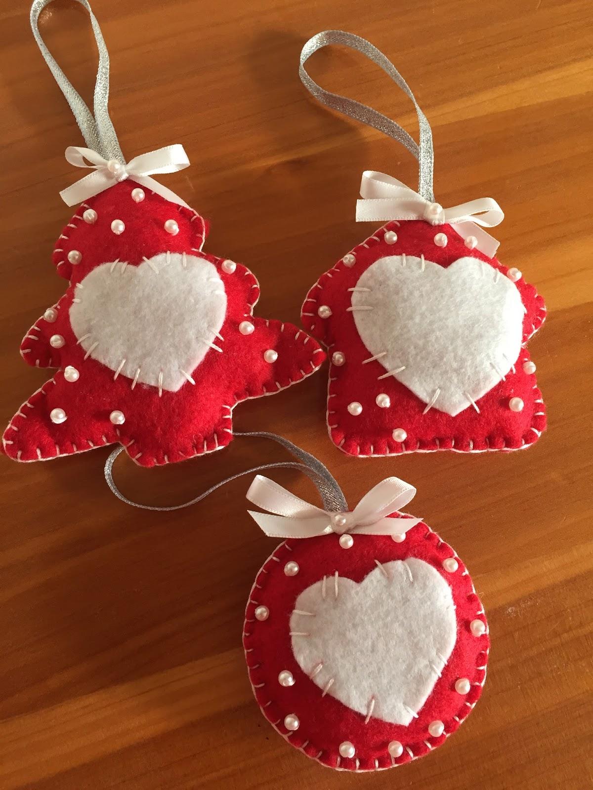A kiwi stitching felt ornaments for Decoration kiwi