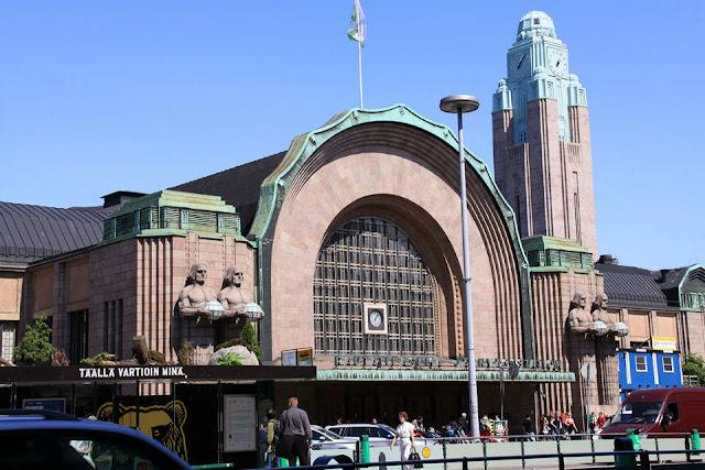 Nhà ga Helsinki, Phần Lan