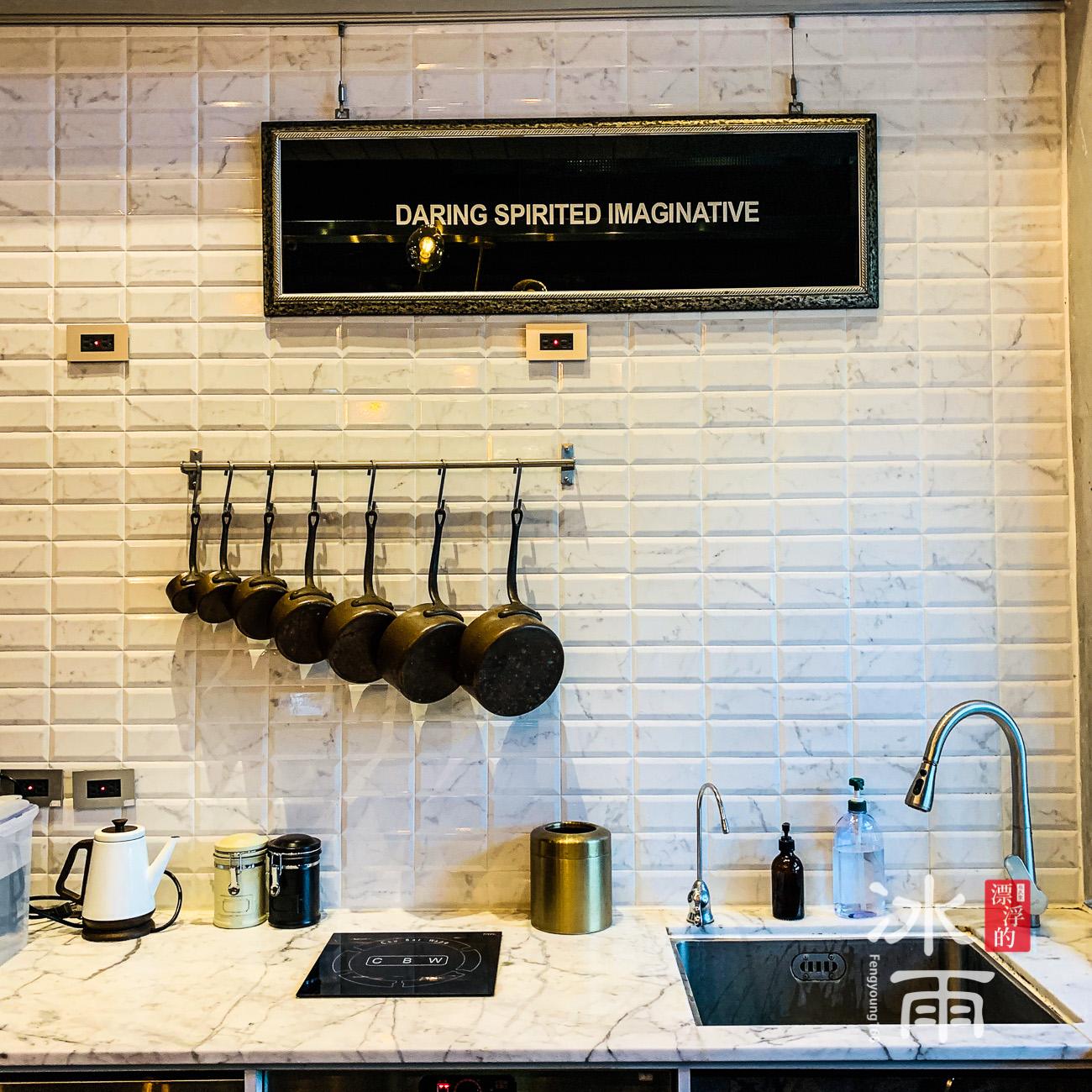 非常有氣質給你拍照好看的文青廚房牆面