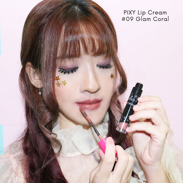PIXY LIP CREAM GLAM CORAL #09 review