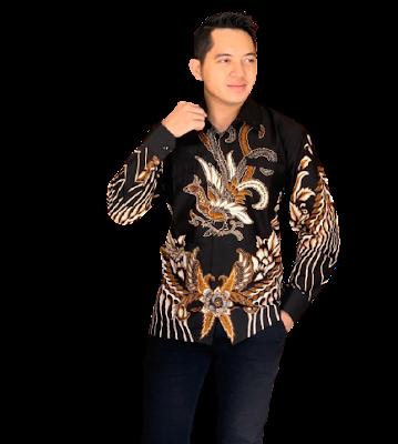 Kemeja Batik Pria Solo Lengan Panjang KBP 07