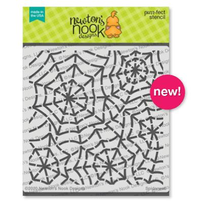 Spiderweb Stencil by Newton's Nook Designs