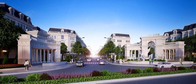 Cổng chính dự án Louis City