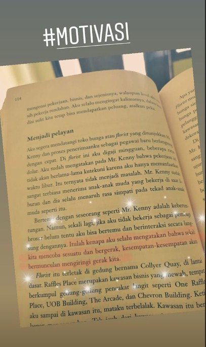 Motivasi dan Inspirasi dari Buku Merry Riana Mimpi Sejuta Dollar