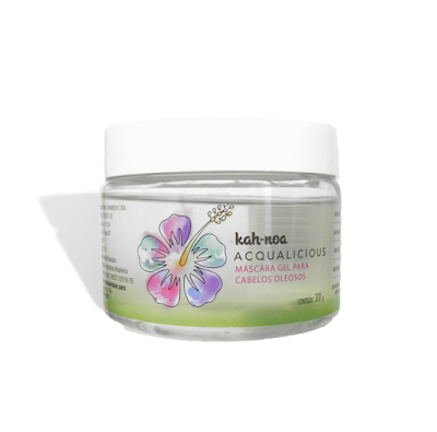 Resenha Máscara Acqualicious - Kah Noa (vegano, liberada para Low Poo, No Poo e Co Wash)