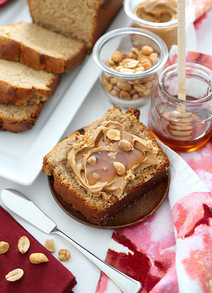 Depression Era Peanut Butter Bread