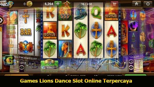 Games Lions Dance Slot Online Terpercaya