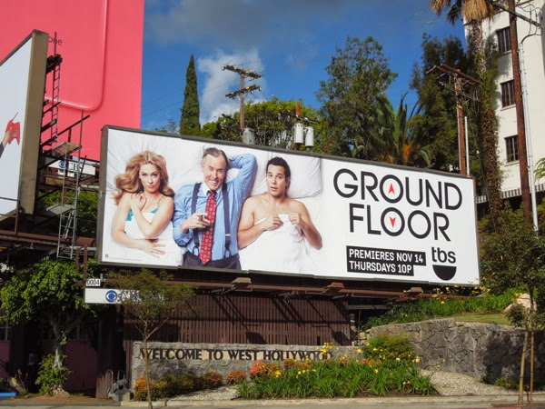 Ground Floor series premiere billboard